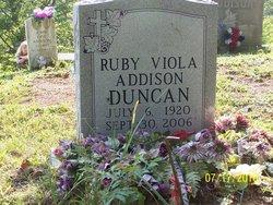 Ruby Viola <I>Addison Horn</I> Duncan