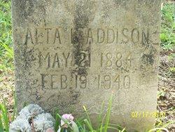 Alta Lydia <I>Phillips</I> Addison