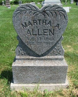 Martha A Allen