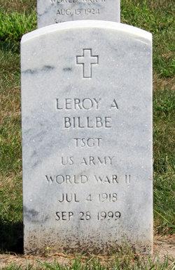 Leroy Amos Billbe