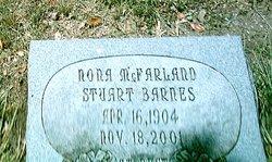 Nora McFarland <I>Stuart</I> Barnes