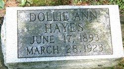 Dollie Ann <I>Smith</I> Hayes