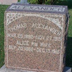 Alice <I>Wise</I> Alexander