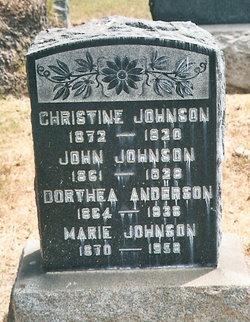Dorthea <I>Jensen</I> Anderson