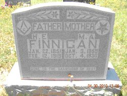 Mary Anne <I>Benson</I> Finnigan