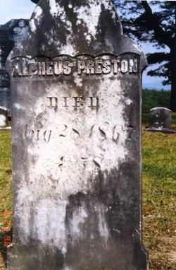 Alpheus Preston
