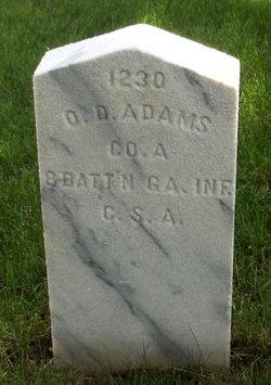 Pvt Obediah D. Adams