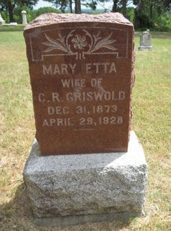 Mary Etta <I>Marts</I> Griswold