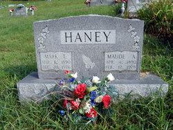 """Alice Maude """"Mary"""" <I>Wilson</I> Haney"""