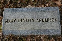 Mary Rosanna <I>Develin</I> Anderson