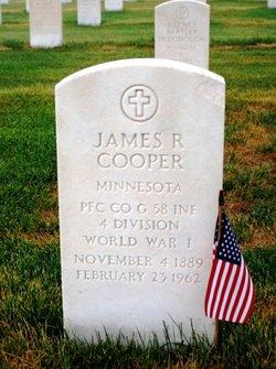 James R Cooper