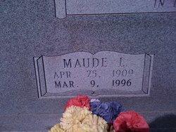 Maude Lillian <I>Cannon</I> Vaughn