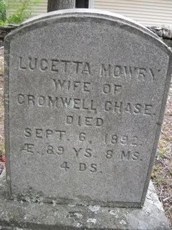 Lucetta <I>Mowry</I> Chase