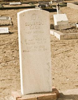 PFC Eduardo Baca
