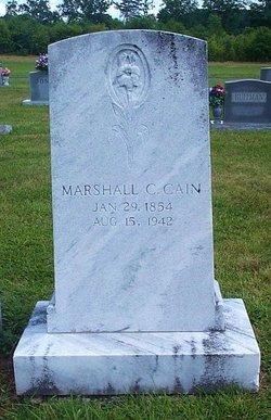 Marshall Clay Cain