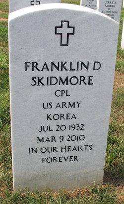 Corp Franklin Delano Skidmore