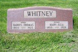Mary Ella <I>Glidden</I> Whitney