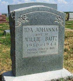 Ida Johanna <I>Wolf</I> Baitz