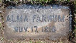 Alma Farnum
