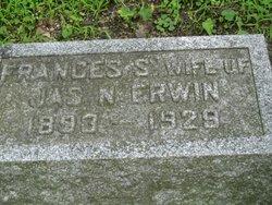 Frances Belle <I>Sitlington</I> Erwin
