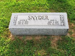 Leotta B. <I>Best</I> Snyder