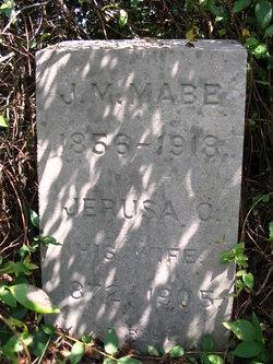 Jerusa C. <I>Stoner</I> Mabe