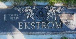 Walter T Ekstrom