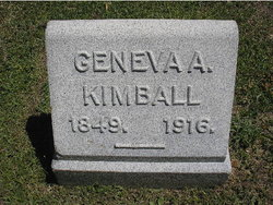 Geneva Anne <I>Hartwell</I> Kimball