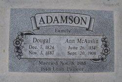 Ann <I>McAuslin</I> Adamson