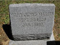 Mary Jenks <I>Yardley</I> Martin