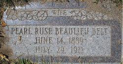 Pearl Ruse <I>Beaulieu</I> Belt