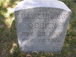 Elizabeth <I>Judge</I> O'Brien
