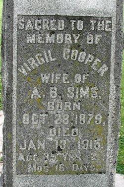 Virgil <I>Cooper</I> Sims