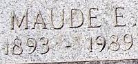 Maude E <I>Nelson</I> Anderson