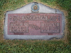 Edith Marie <I>Nelson</I> Anderson