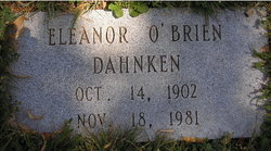 Eleanor <I>O'Brien</I> Dahnken