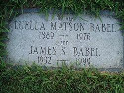 Luella <I>Underhill</I> Babel