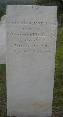 Theoda <I>Porter</I> Hitchcock