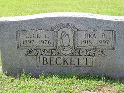 Cecil L Beckett