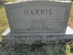 Mildred <I>Shumate</I> Harris