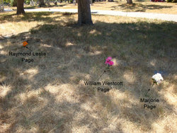 "Margaret Jane ""Marjorie"" <I>Whitaker</I> Page"