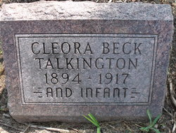 Cleora <I>Talkington</I> Beck