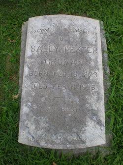 Sally Lester <I>Prosser</I> Groman