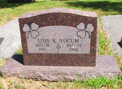 Lois K. <I>Deviney</I> Yocum