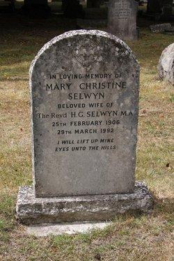 Mary Christine Selwyn