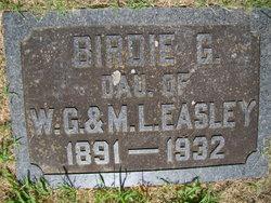 Birdie G <I>Easley</I> Burroughs