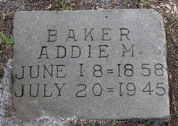 Addie May Baker