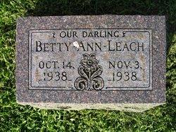 Betty Ann Leach