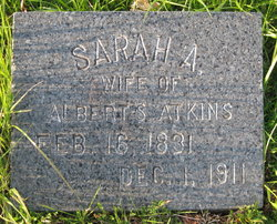 Sarah Ann <I>Robinson</I> Atkins