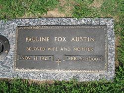 Pauline <I>Fox</I> Austin